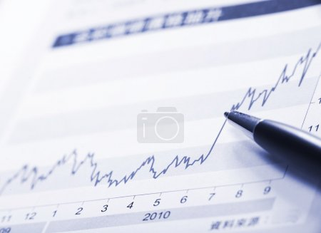 Photo for Financial analysis - Royalty Free Image