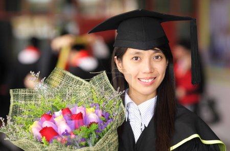 Photo pour L'obtention du diplôme - image libre de droit