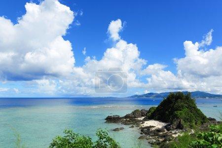Sea in okinawa japan