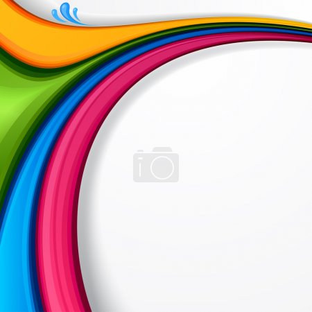 Illustration for Vector eps8 abstract vibrant background. . - Royalty Free Image