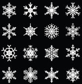 Snowflakes illustrations for christmas themed design elements