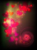 Dekorativní valentýnské pohlednice