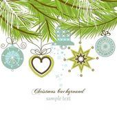 Stylish Christmas background