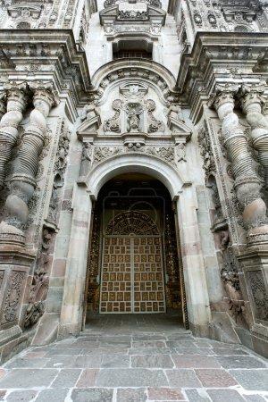 Photo pour Architecture gothique à Quito L'Equateur reste d'occupation espagnole - image libre de droit
