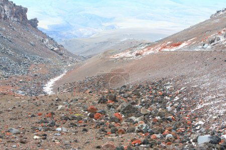 Cotopaxi Volcano Colors