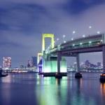 One of famous Tokyo landmarks, Tokyo Rainbow suspe...