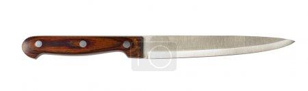 Photo pour Couteau de cuisine, isolé sur blanc - image libre de droit