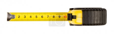Photo for Tape measure,isolated on white - Royalty Free Image