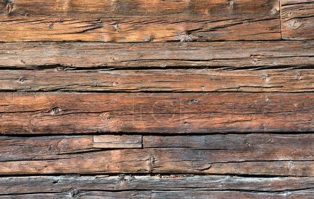 Photo for A rustic wooden board seen in Switzerland - Royalty Free Image