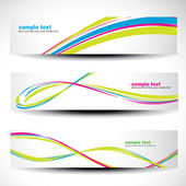 Abstract header vector set 2