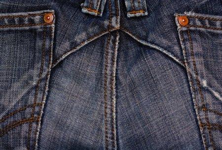 Bleu jeas textures