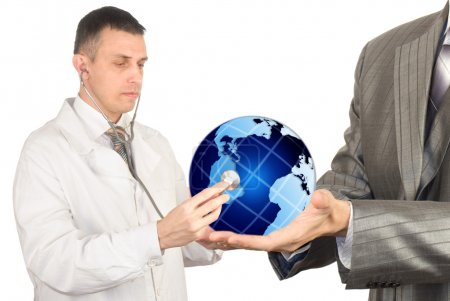 Health of the population of globe in our hands