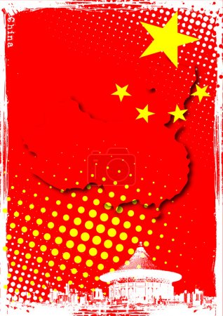Poster of china