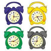 Ilustrace izolované hodiny