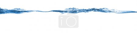 Photo for Wave. Water splashing isolated on white background - Royalty Free Image