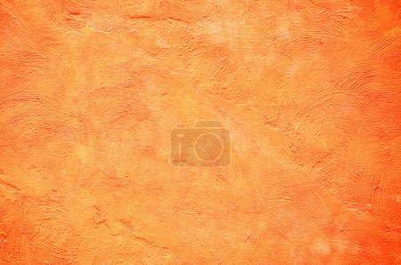 Orange color painting wall...