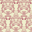 Abstract seamless floral pattern...