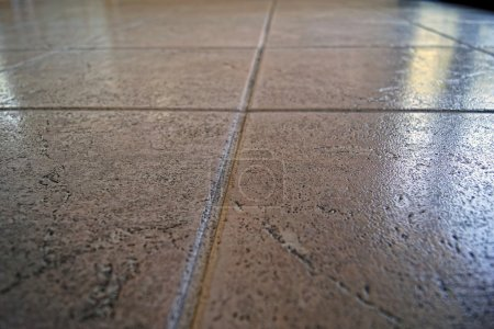 Close up of tile floor