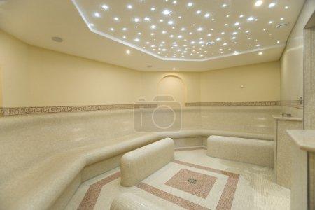 Beautiful turkish bath in new modern hotel