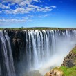 Powerful Victoria Falls from the side of Zimbabwe...