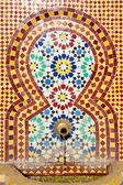 """Постер, картина, фотообои """"марокканской плиткой фонтан"""""""