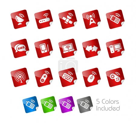 Wireless &Communications // Stickers Series