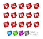 Wireless Communications // Stickers Series