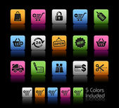 Shopping Icons // Colorbox Series