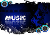 Abstract music background Clip-art