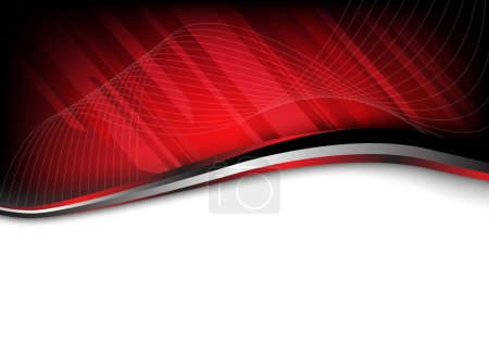 Illustration for Red background composition. Clip-art - Royalty Free Image