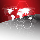 Worldwide business concept