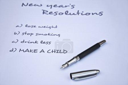 Make a child resolution