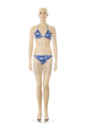 Female mannequin in bikini | Isolated
