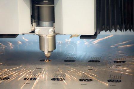Laser cutting machine technology