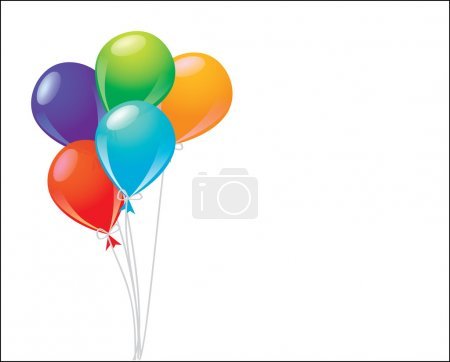 Illustration for Balloons - Royalty Free Image