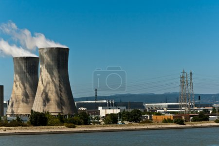Nuclear Towers and Power Lines