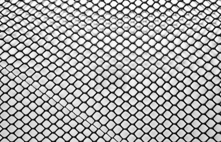 Black net with a little window