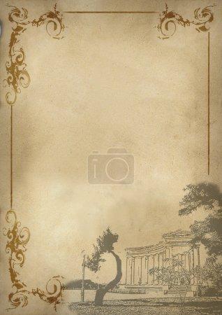 Photo pour Fond du menu - image libre de droit
