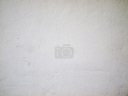 Photo pour Texture de mur peint blanc pour le fond du web - image libre de droit