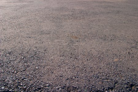 Photo for Asphalt texture close up, covering for roads, footpaths - Royalty Free Image