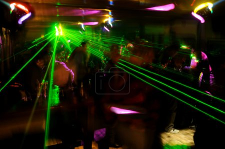 Clubbing atmosphere