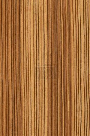 Photo pour Texture de zebrano (série de textures de bois très détaillées) ) - image libre de droit