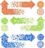 Mozaika šipky
