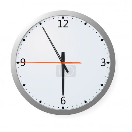 Vector Clock On A Wall