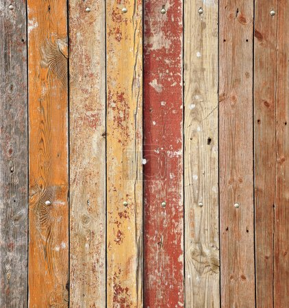 Photo for Texture of old wooden planks for background - Royalty Free Image