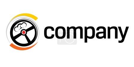 Illustration pour Transport rapide ou logo de livraison - image libre de droit