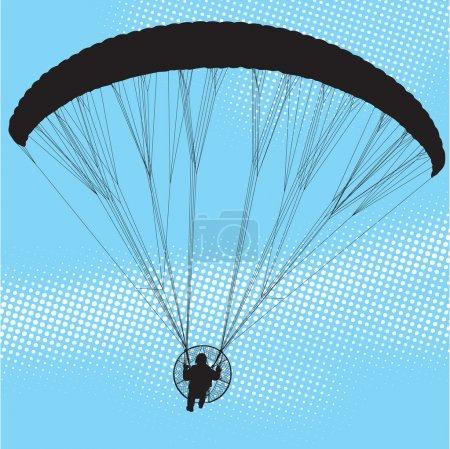 Paraglider and paramotor