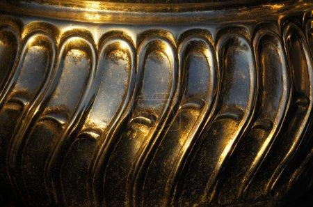 Metallic bowl