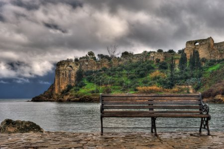 The castle of Koroni, southern Greece