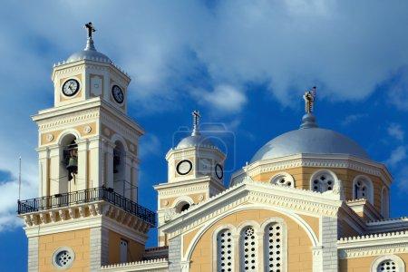 Greek orthodox cathedral in Kalamata, Greece